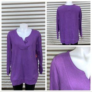 Avenue Must Have top purple 14/16